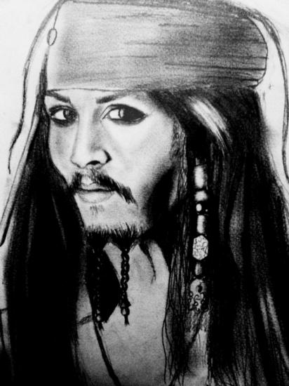 Johnny Depp by Sundae